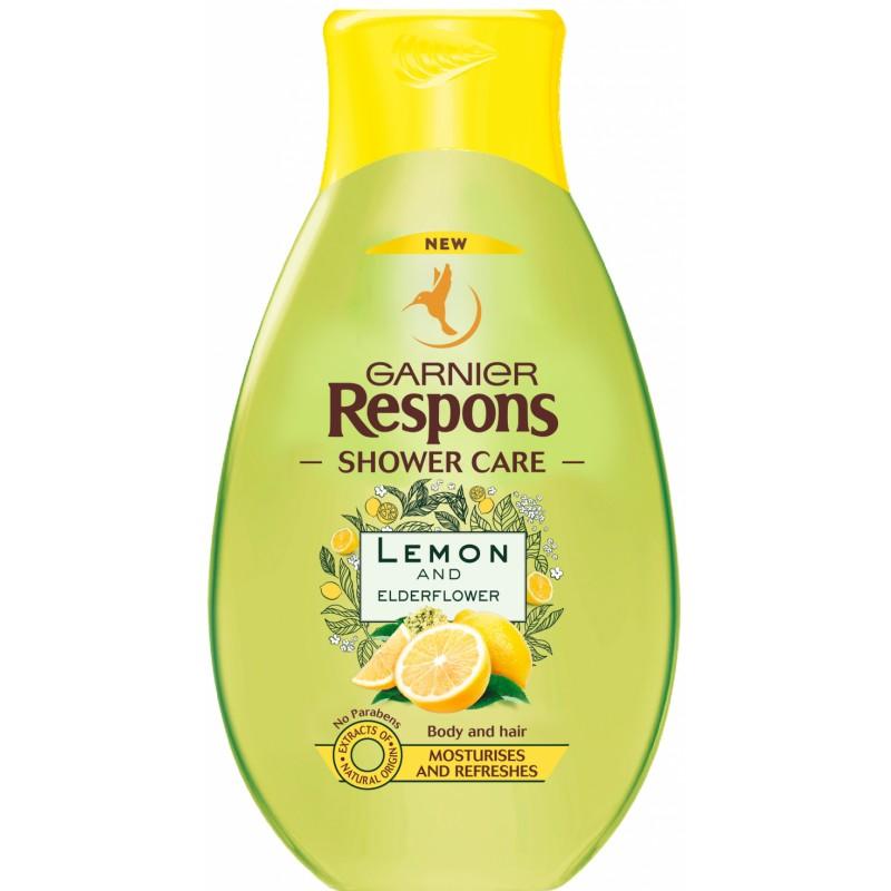 Garnier Lemon & Elderflower Shower Gel