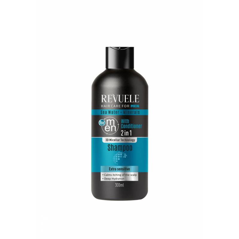 Revuele Men Seawater & Minerals 2in1 Shampoo