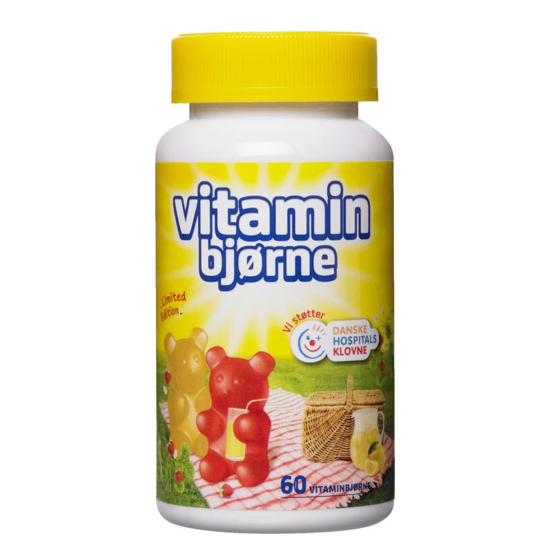 Longo Vitaminbjørne Jordbær & Lime