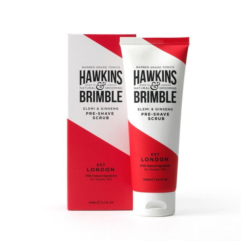 Hawkins & Brimble Elemi & Ginseng Pre-Shave Scrub