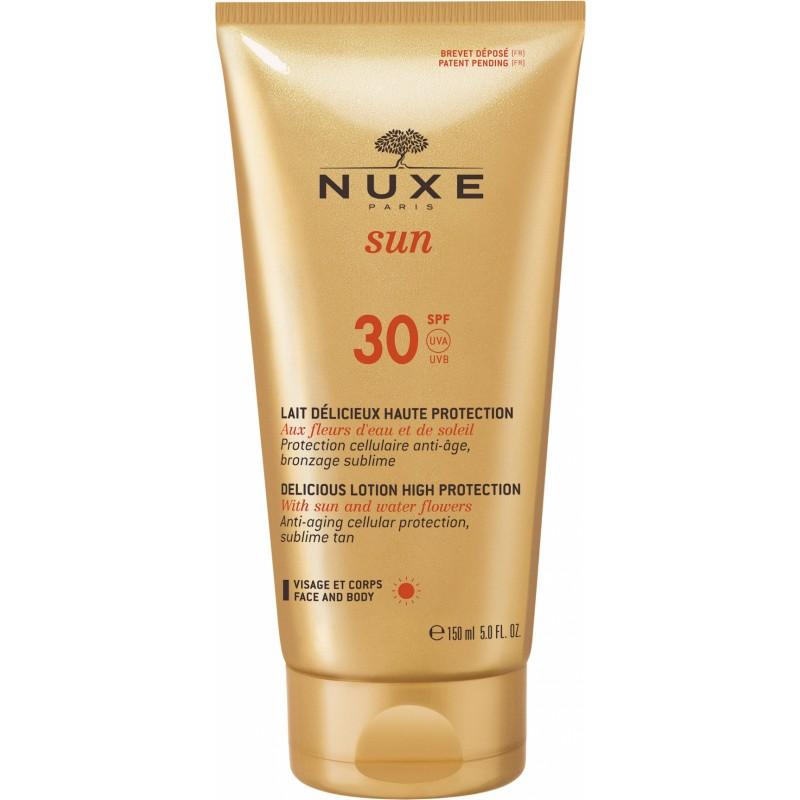 Nuxe Sun Delicious Lotion Face & Body SPF30