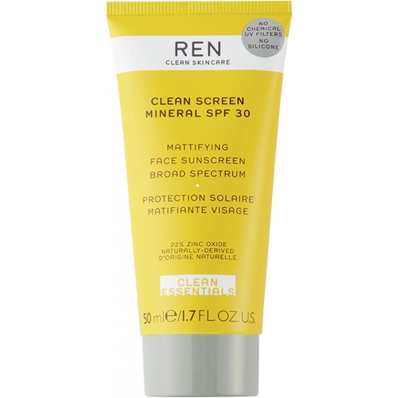 REN Clean Screen Mineral Mattifying Face SPF30
