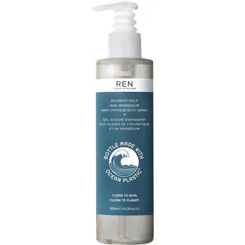REN Atlantic Kelp & Magnesium Body Wash Ocean Plastic