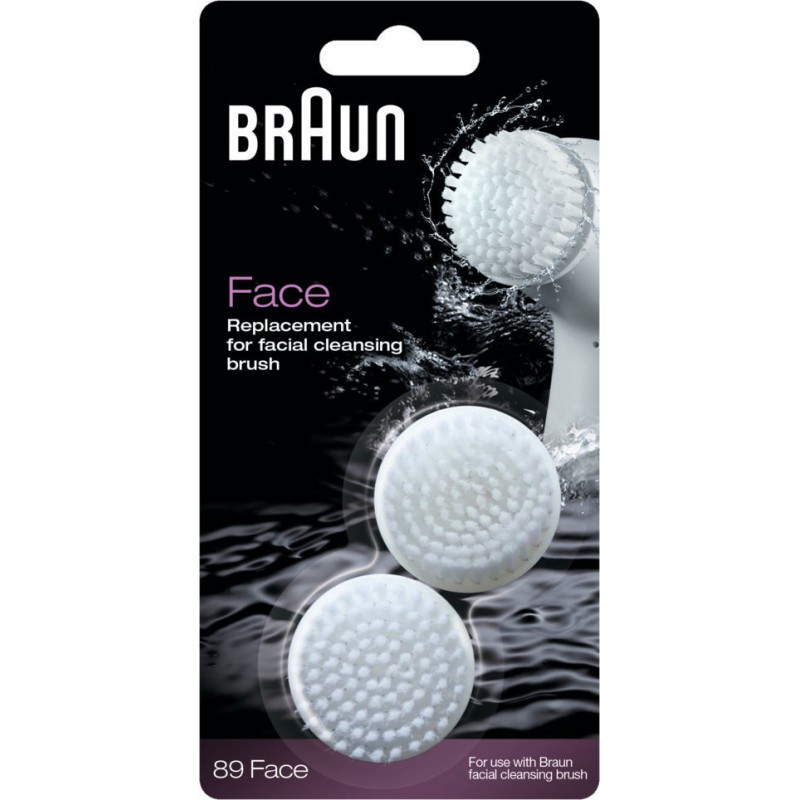 Braun 89 Face Replacement Cleansing Brush