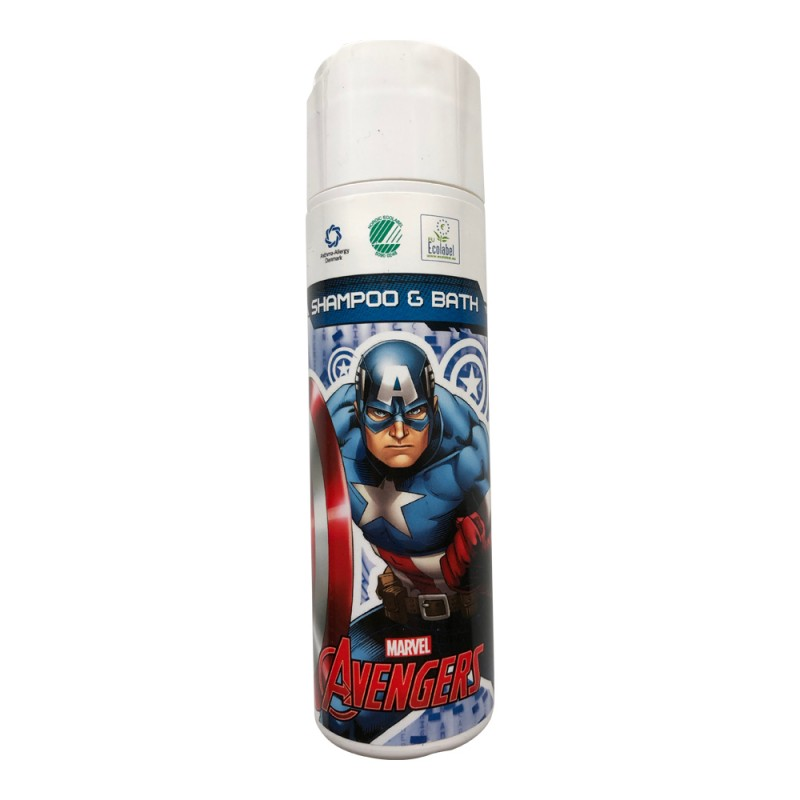 Marvel Captain America Shampoo & Bath