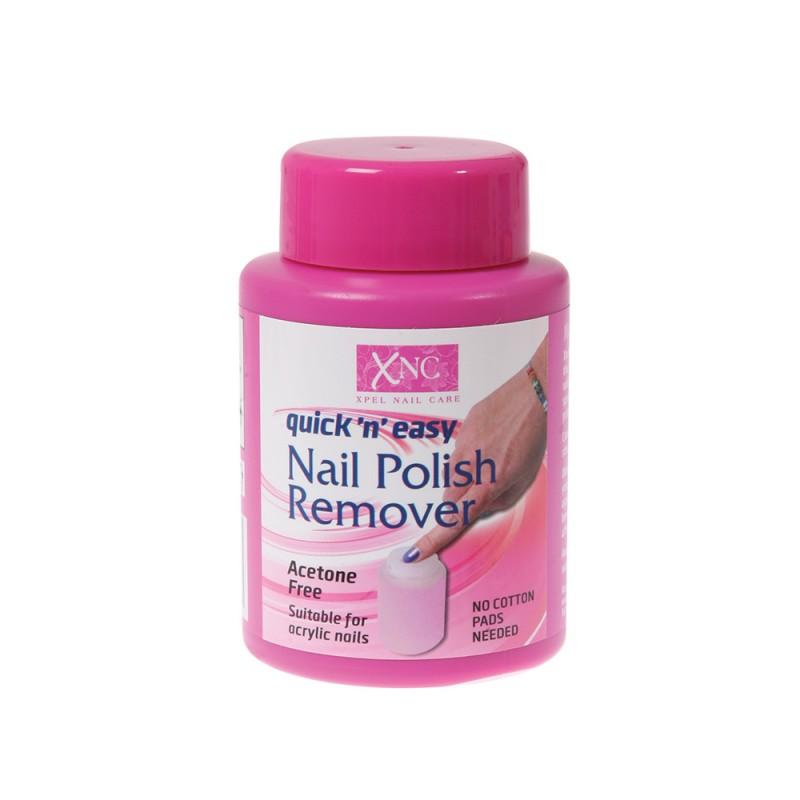 XNC Quick 'n' Easy Acetone Free Nail Polish Remover