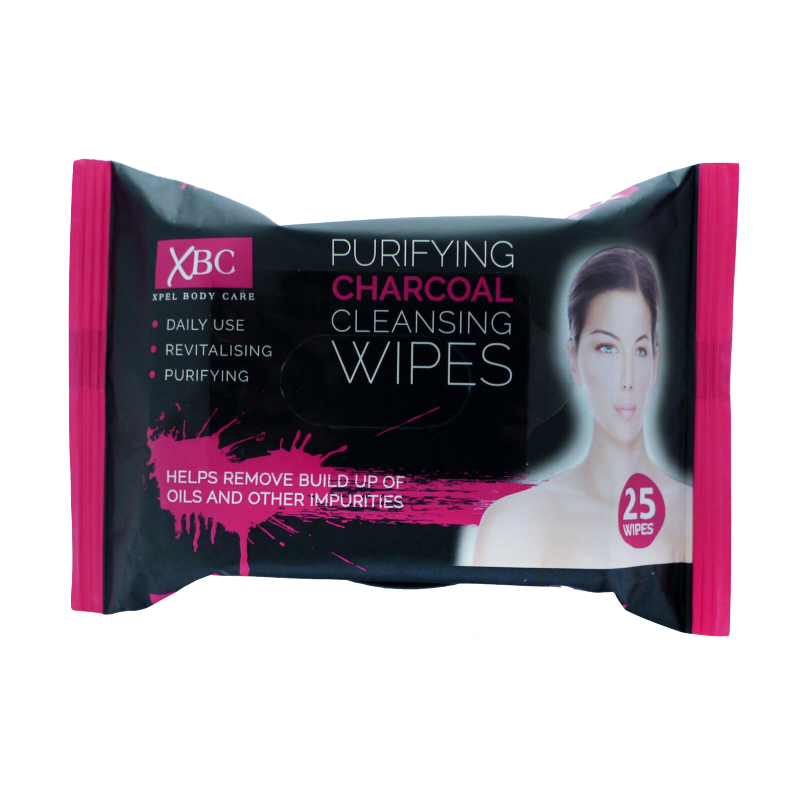 XBC Purifying Charcoal Cleansing Wipes