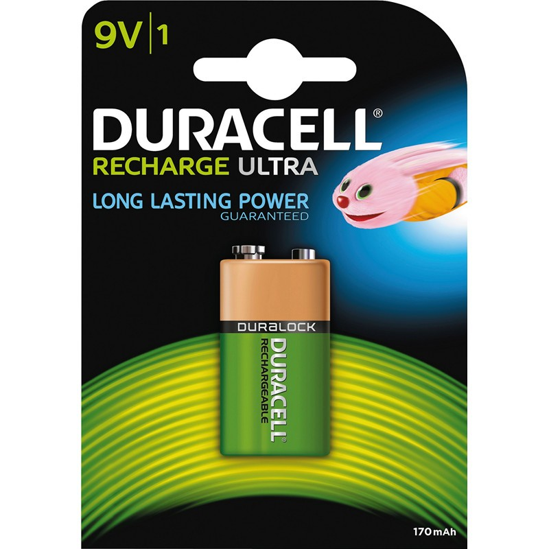 Duracell Recharge Ultra 9V