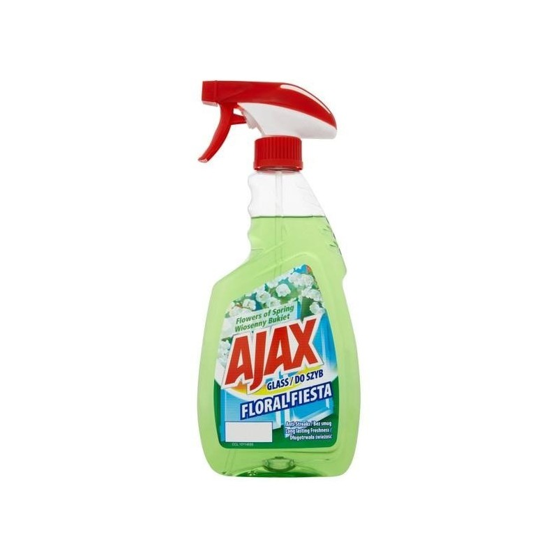 Ajax Floral Fiesta Spring Bouquet Glass Cleaner Spray