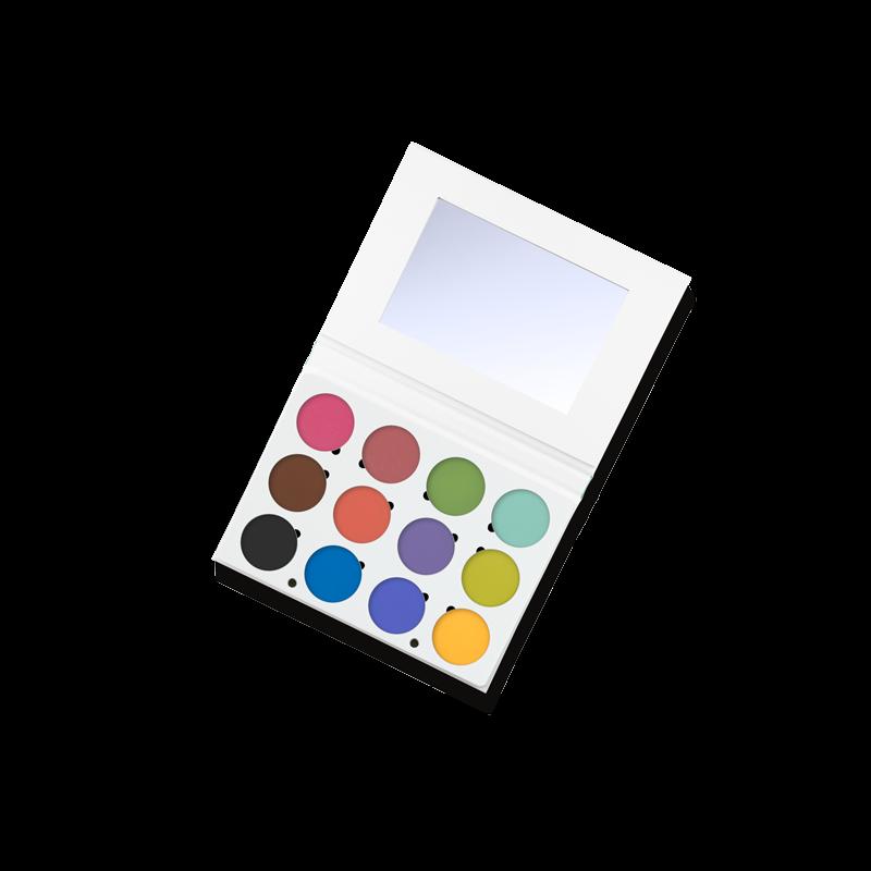 Ofra Professional Eyeshadow Palette Bright Addiction