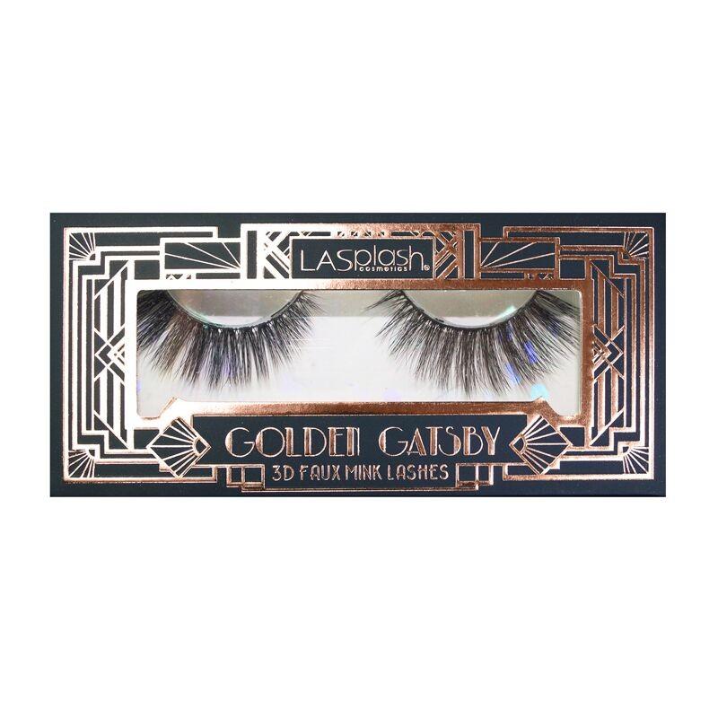 LASplash Golden Gatsby 3D Faux Mink Lashes Sittin' Pretty