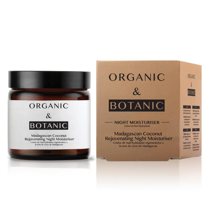 Organic & Botanic Madagascan Coconut Rejuvenating Night Moisturiser