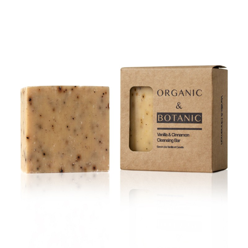 Organic & Botanic Vanilla & Cinnamon Cleansing Bar