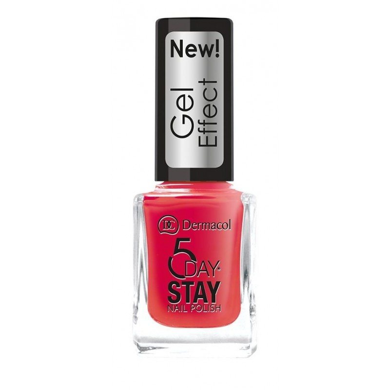 Dermacol 5 Day Stay Nail Gel Polish 28 Moulin Rouge