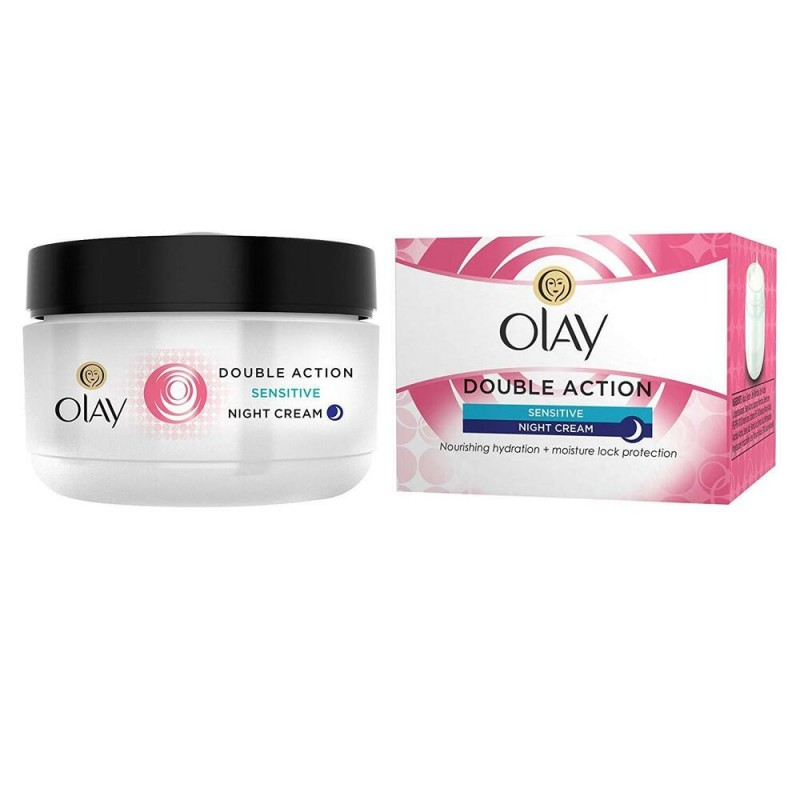 Olay Double Action Night Cream & Primer Sensitive