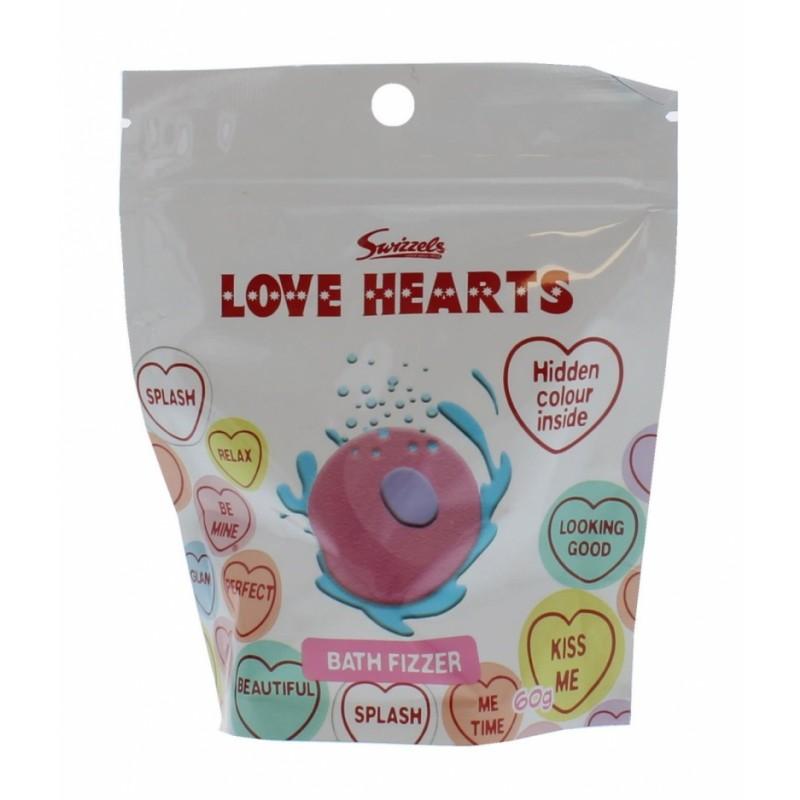Swizzels Love Hearts Bath Bomb Fizzer