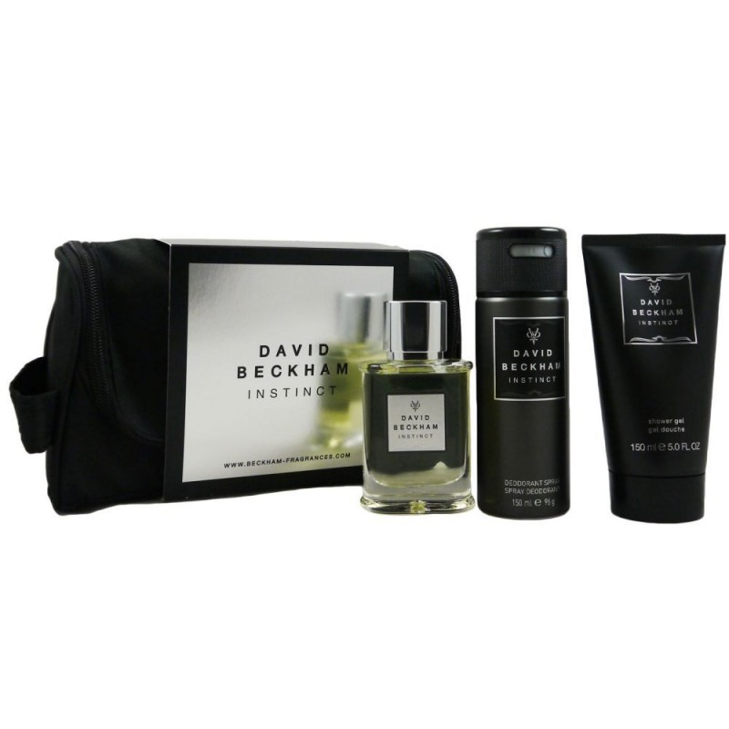 David Beckham Instinct Aftershave & Deospray & Shower Gel