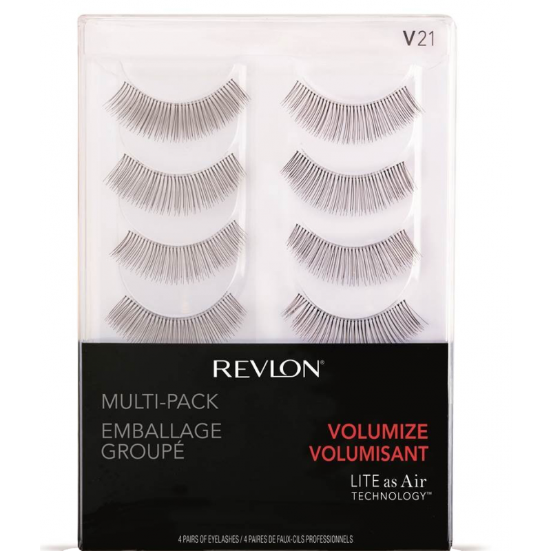 Revlon Multi-Pack Volumize Eye Lashes 91158