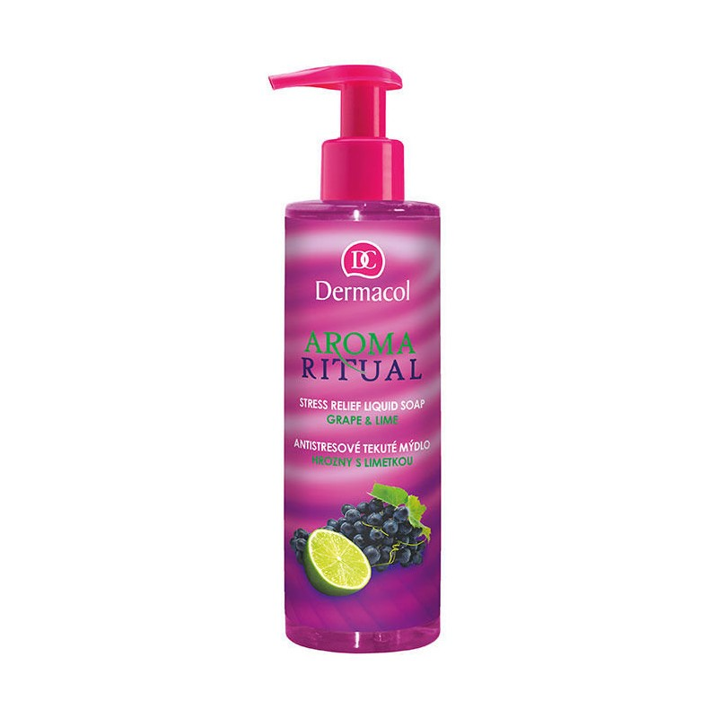Dermacol Aroma Ritual Grape & Lime Liquid Soap