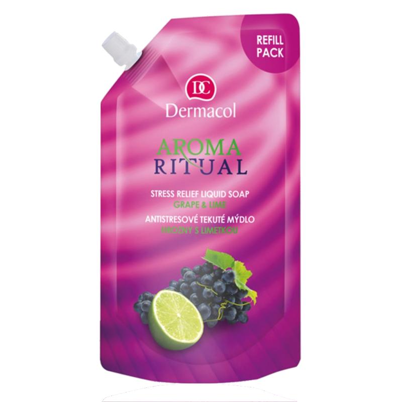 Dermacol Aroma Ritual Grape & Lime Liquid Soap Refill