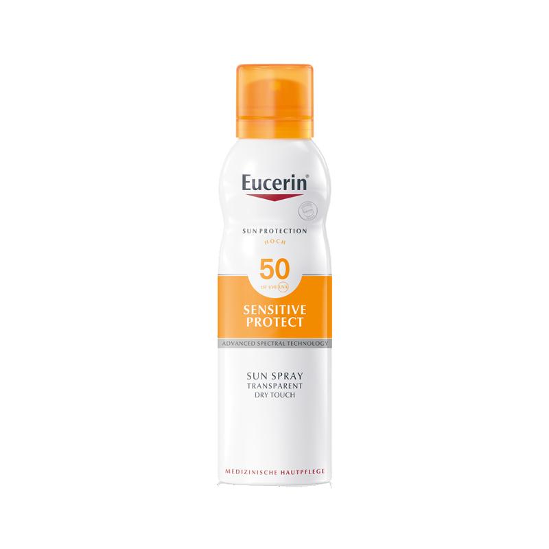 Eucerin Sensitive Protect Sun Dry Spray SPF50