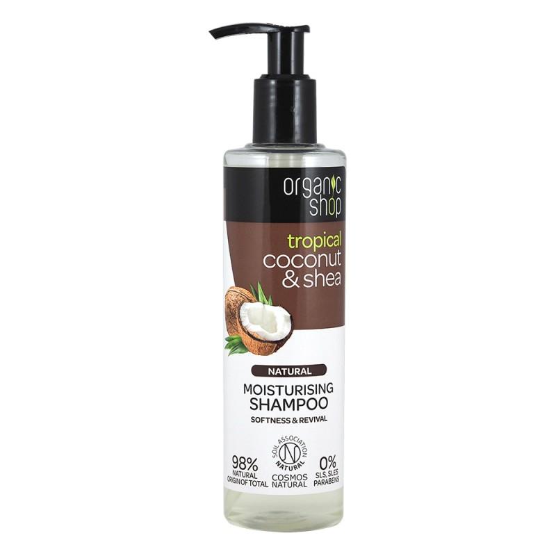Organic Shop Tropical Coconut & Shea Shampoo