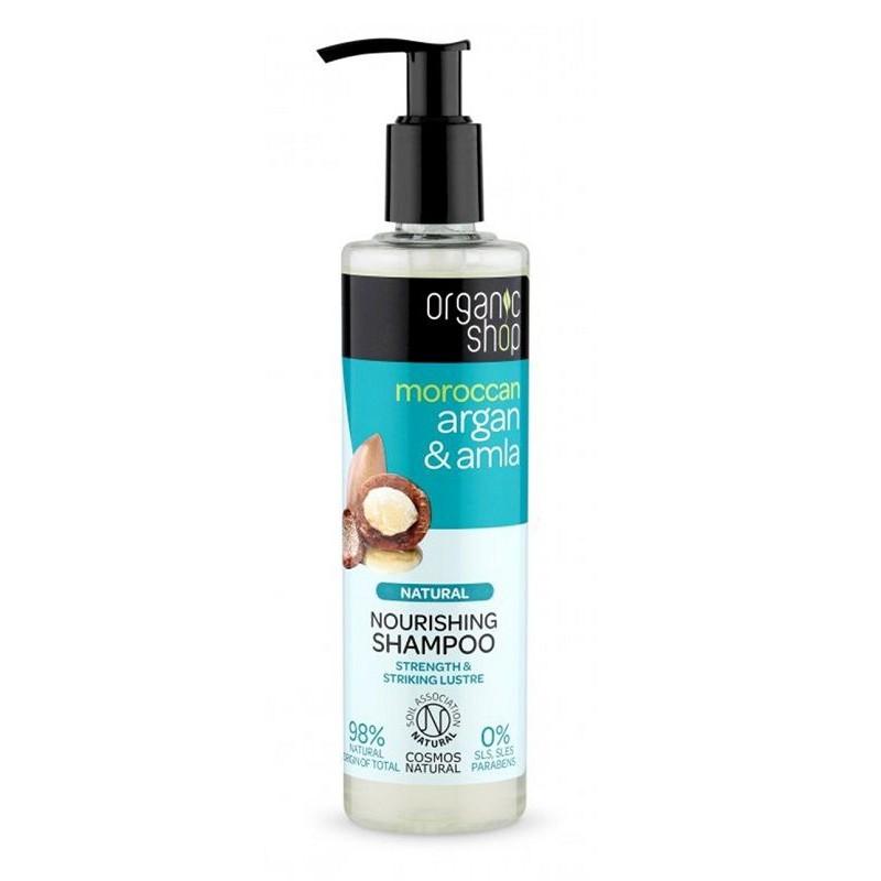 Organic Shop Moroccan Argan & Amla Shampoo