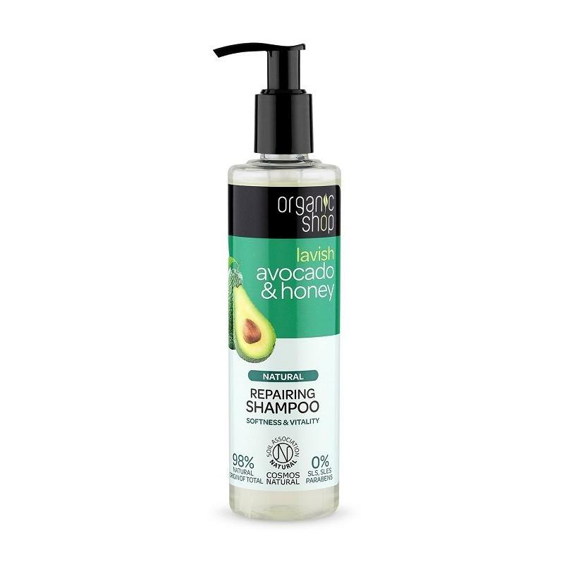 Organic Shop Lavish Avocado & Shea Shampoo