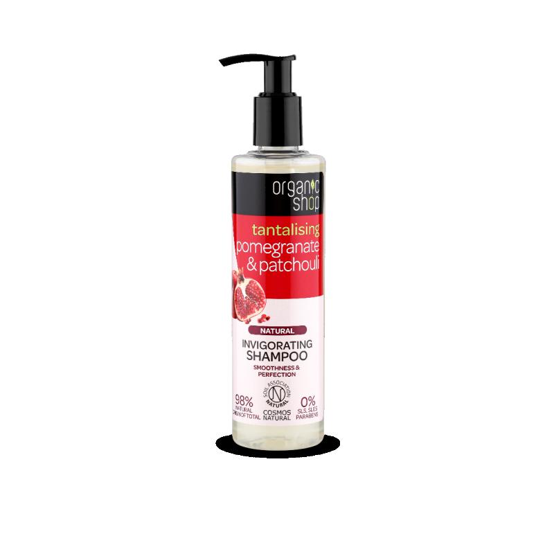 Organic Shop Tantalising Pomegranate & Patchouli Shampoo