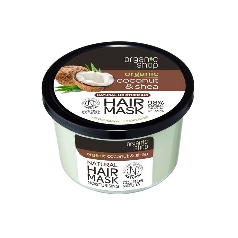 Organic Shop Organic Coconut & Shea Moisturising Hair Mask