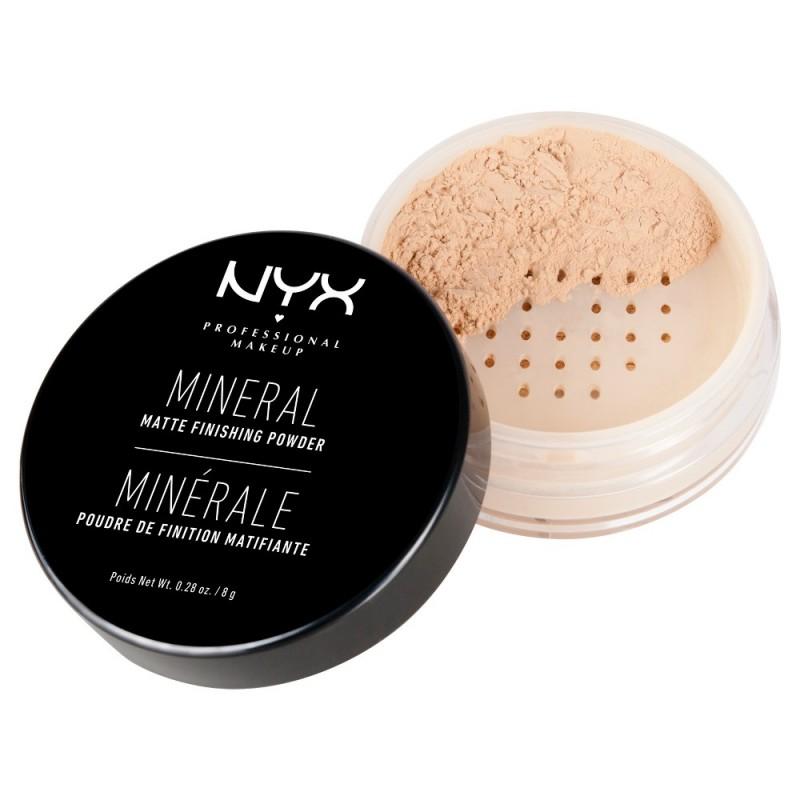 NYX Mineral Finishing Powder Light Medium