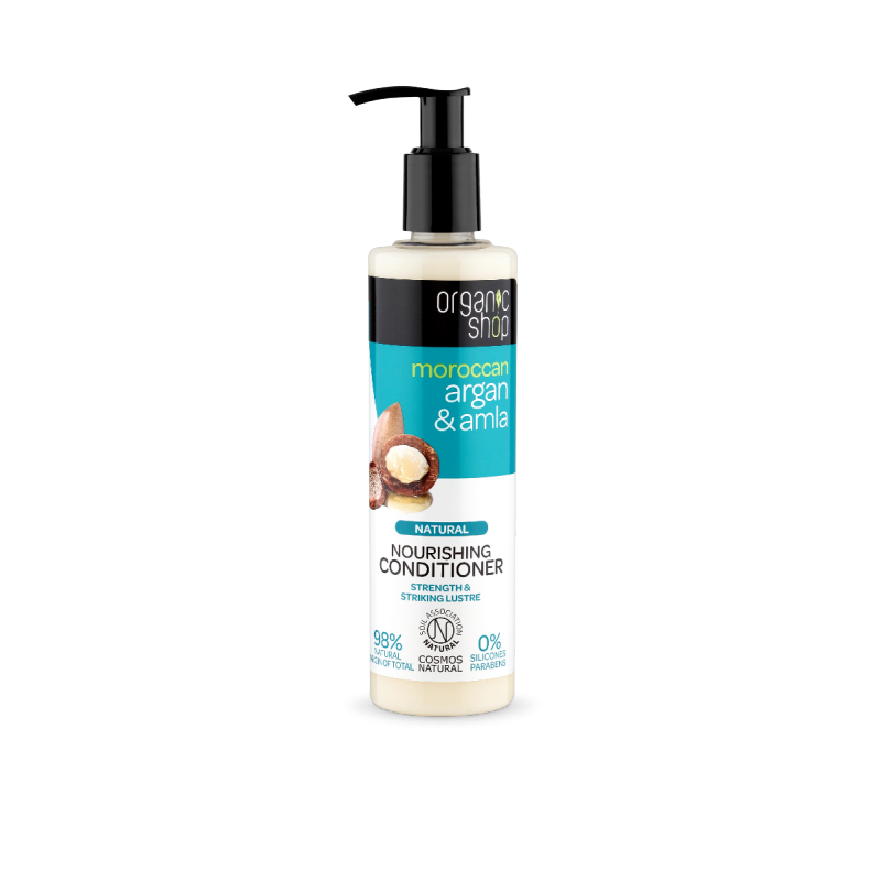 Organic Shop Moroccan Argan & Amla Conditioner