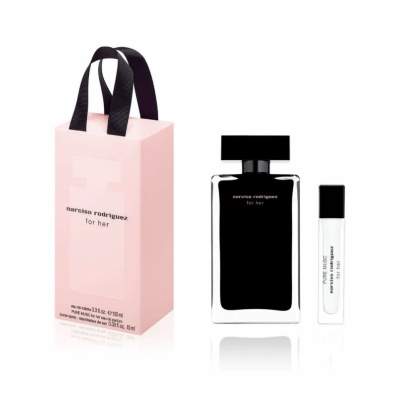 Narciso Rodriguez For Her EDT & Pure Musc Mini EDP