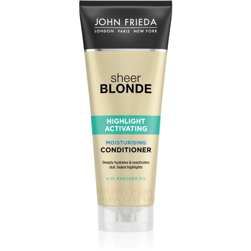 John Frieda Sheer Blonde Highlight Activating Moisturizing Conditioner