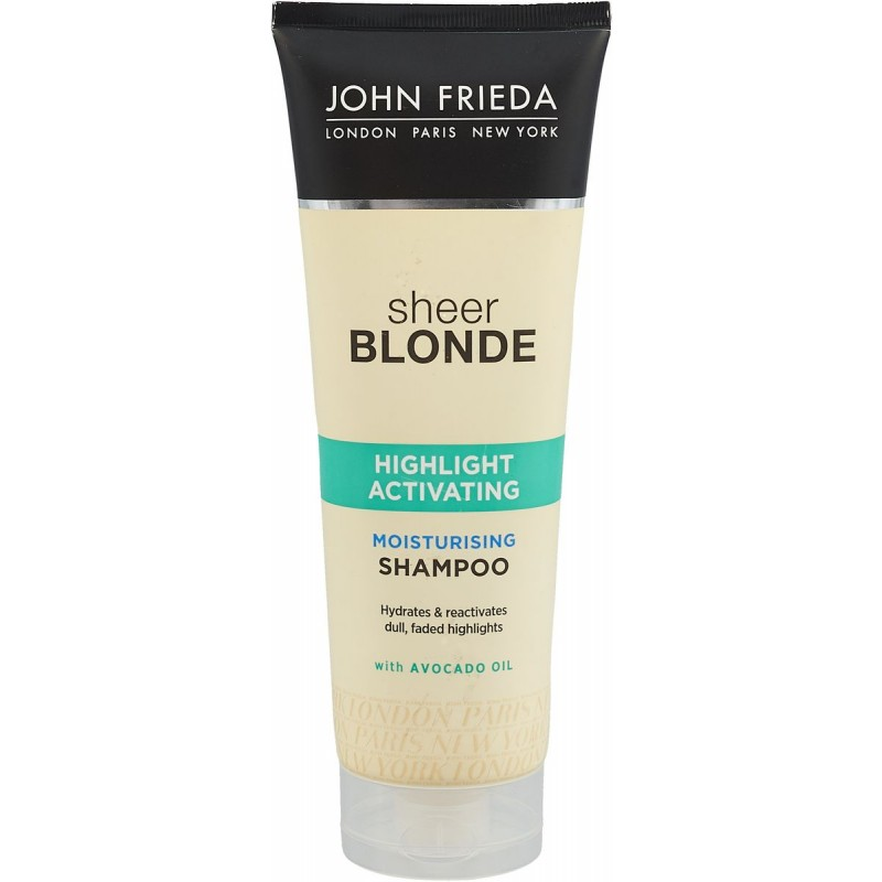 John Frieda Sheer Blonde Highlight Activating Moisturizing Shampoo