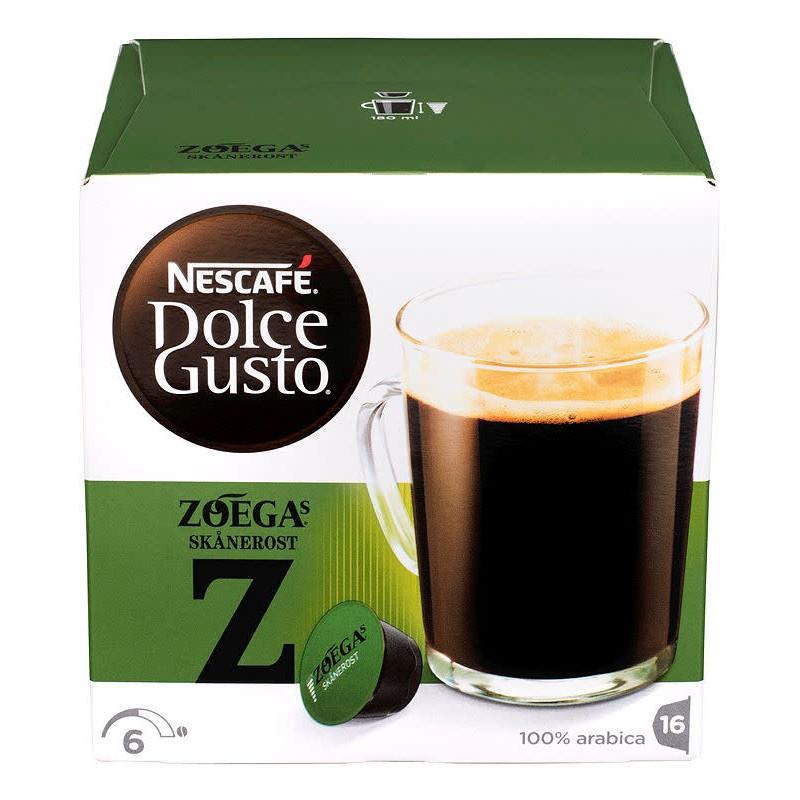 Nescafe Dolce Gusto Zoégas Skånerost