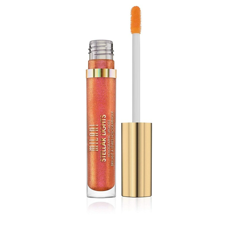 Milani Stellar Lights Holographic Lipgloss Luminous Peach