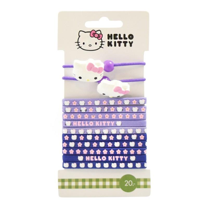 Hello Kitty Hårelastikker Mix Pack