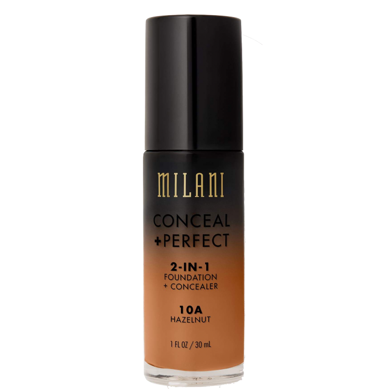 Milani Conceal + Perfect 2in1 Foundation + Concealer 10A Hazelnut