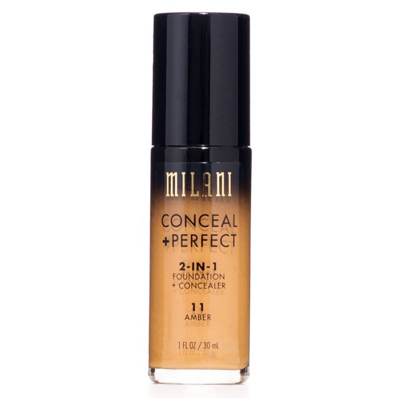 Milani Conceal + Perfect 2in1 Foundation + Concealer 11 Amber
