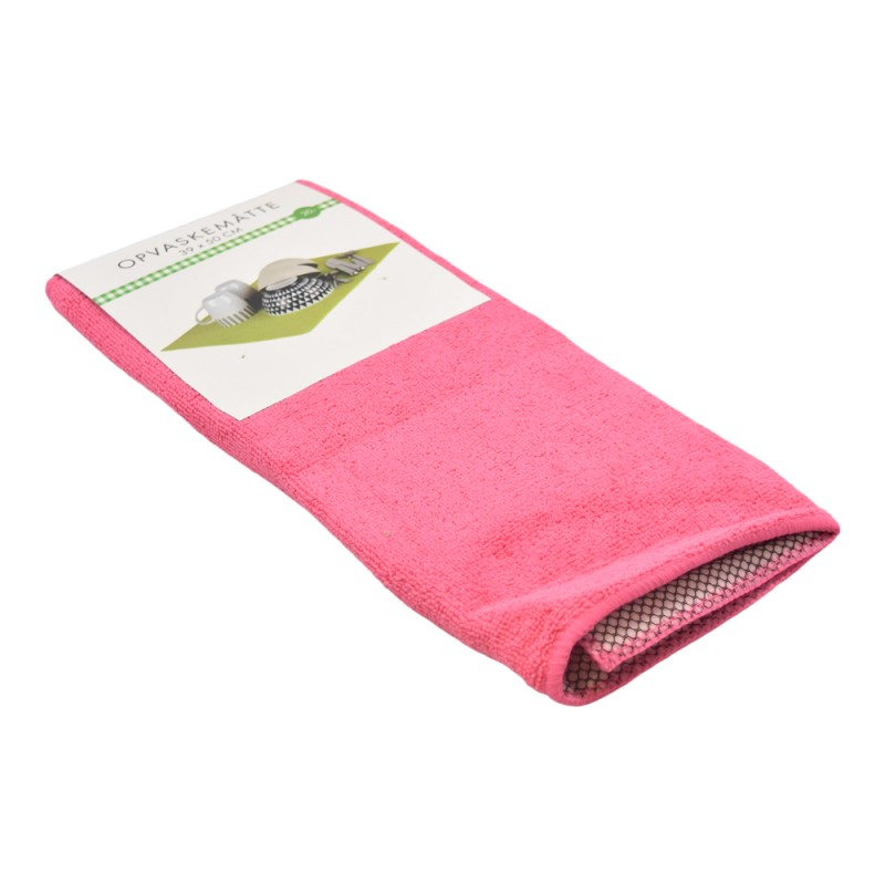 BasicsHome Opvaskemåtte Pink