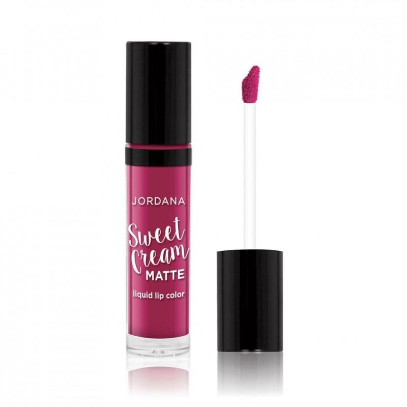 Jordana Sweet Cream Matte Liquid Lip Color 25 Sugarberry Crumble