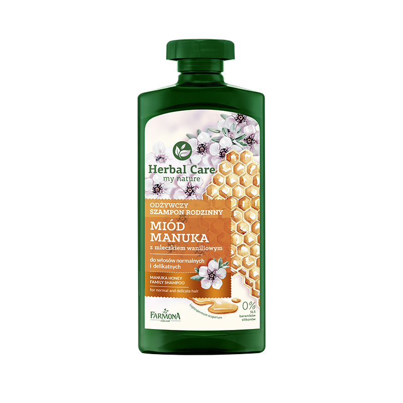 Herbal Care Nourishing Family Shampoo Manuka Honey