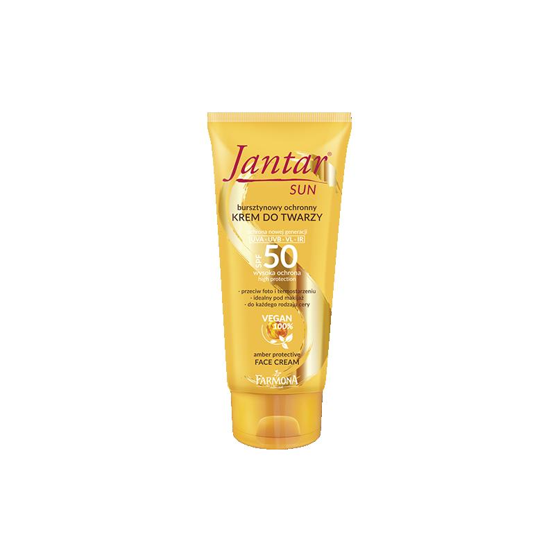 Jantar Sun Amber Protective Face Cream SPF50