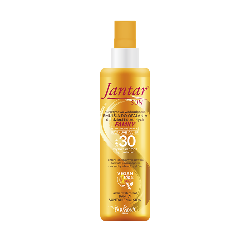 Jantar Sun Amber Waterproof Family Suntan Emulsion SPF30