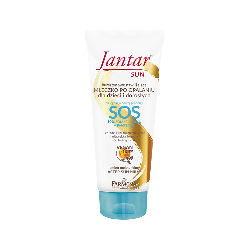 Jantar Sun Amber SOS Moisturizing After Sun Milk