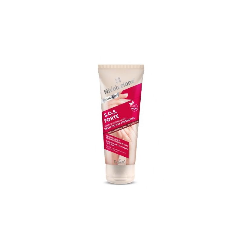 Nivelazione Corneo-Regenerating Cream SOS Forte For Hands & Nails