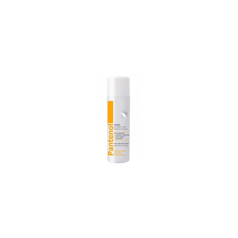 Pantenol Regenerating & Smoothing Face & Body Foam