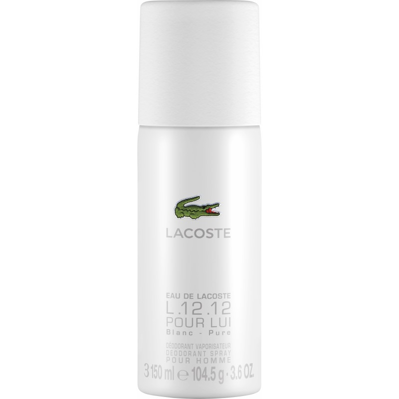 Lacoste L.12.12 White Pour Homme Deospray