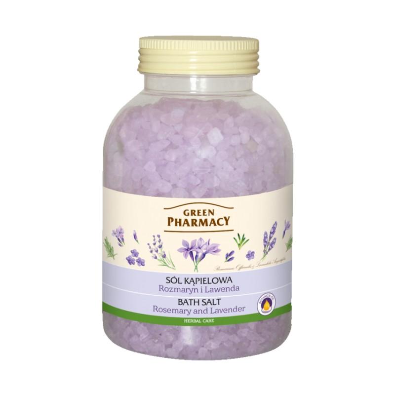 Green Pharmacy Rosemary & Lavender Bath Salt